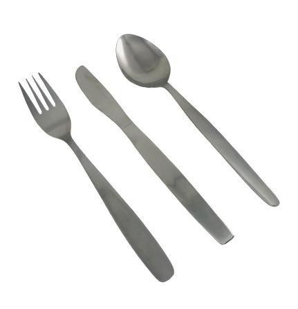 Besteck Gabel Messer Löffel Chromnickelstahl