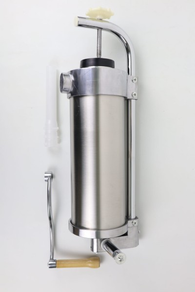 Edelstahl-Wurstfüller 3 Liter Wurststopfmaschine