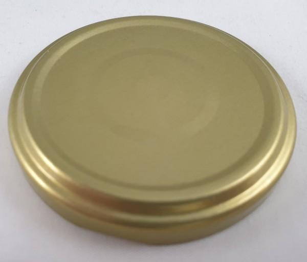 Deckel für Twist Off Gläser 66mm GOLD VE 15 St