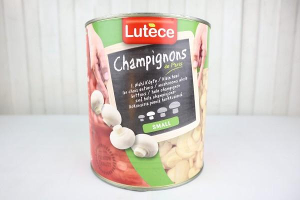 Champignons Köpfe oder geschnitten
