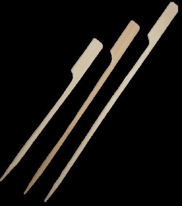 Flaggenspieße Bambus Länge 120, 150 und 180mm