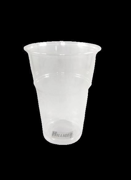 BIO Trinkbecher glasklar 0,2l 0,3l 0,4l 0,5l