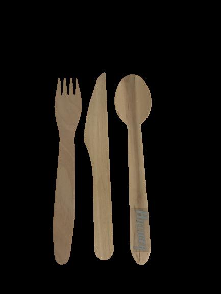 Besteck Holz Messer Gabel Löffel
