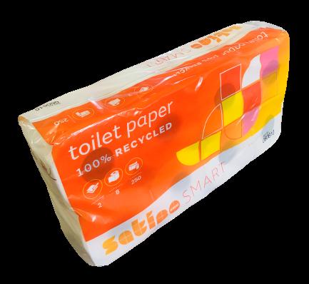 Toilettenpapier 2 lagig VE 64 Rollen (8x8)