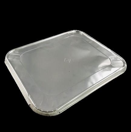 Deckel für Aluschale Alubehälter Gastronorm 1/2 VE 10 St.